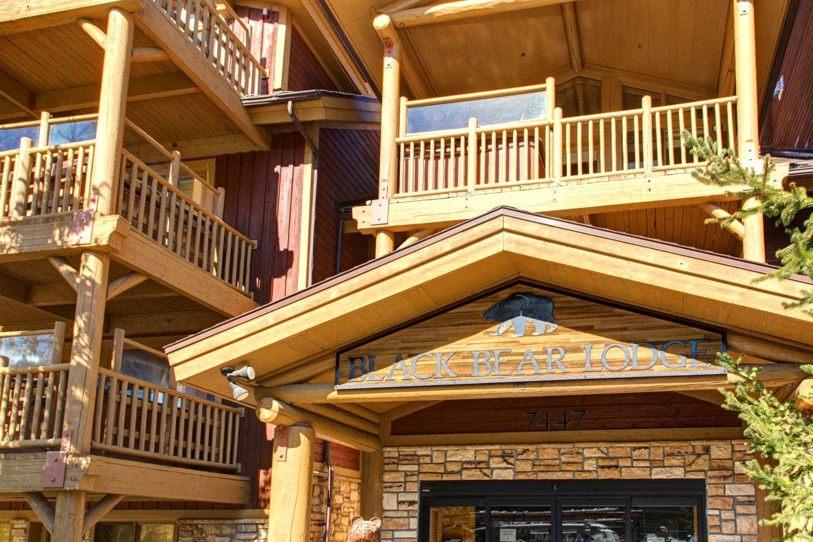 Black Bear Lodge Entrance