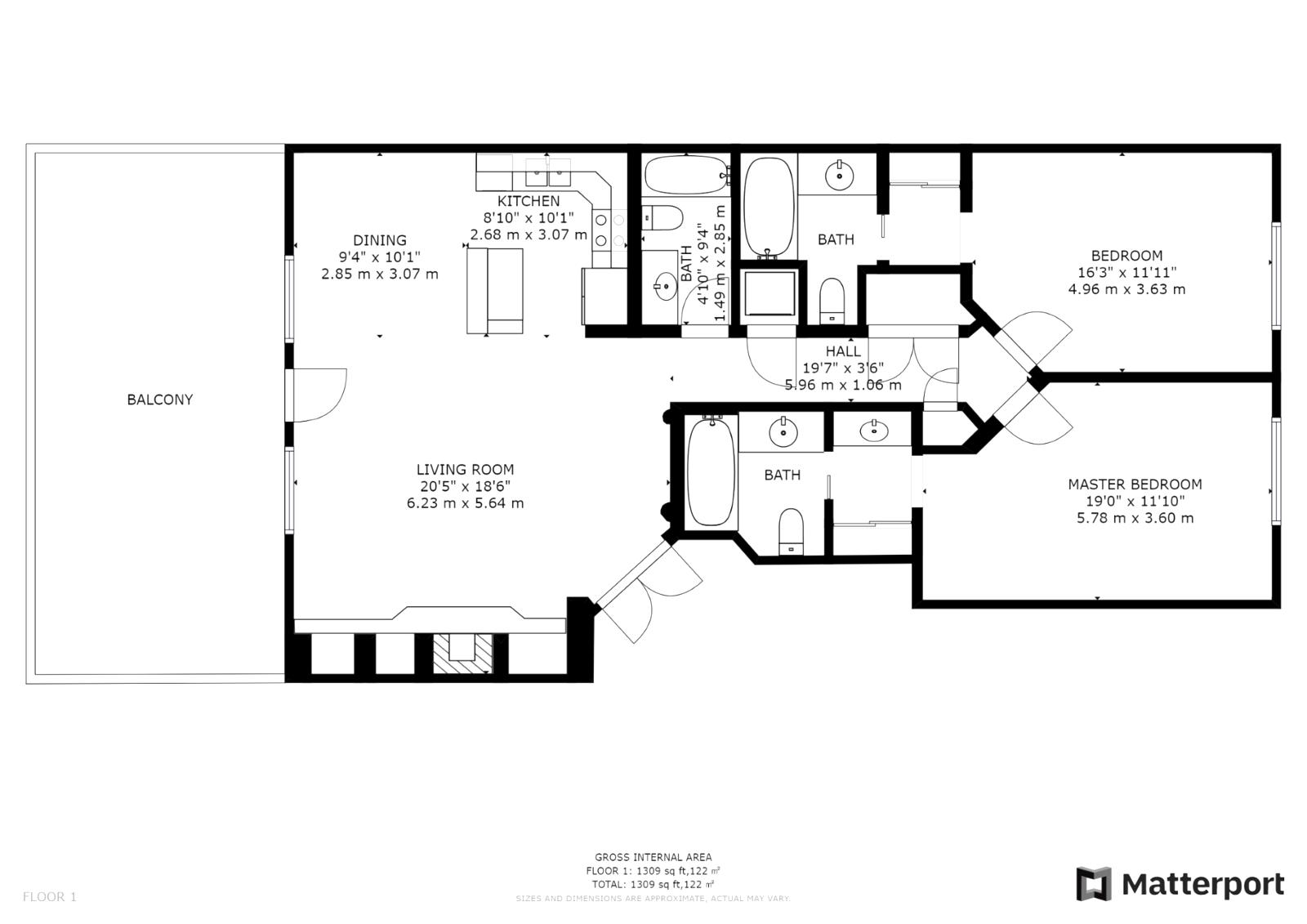 351A floor plan