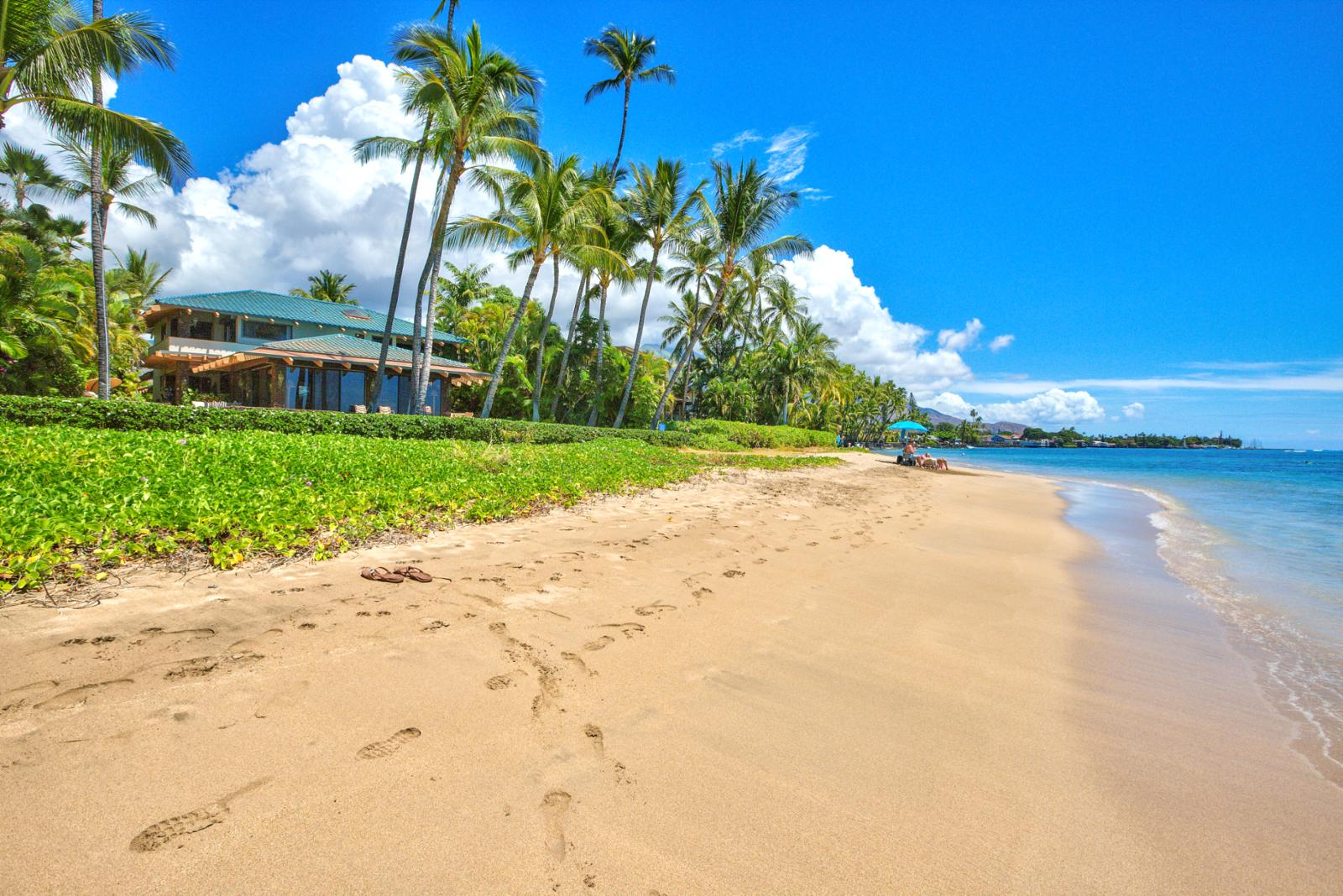 World famous Baby Beach located in the heart of Lahaina