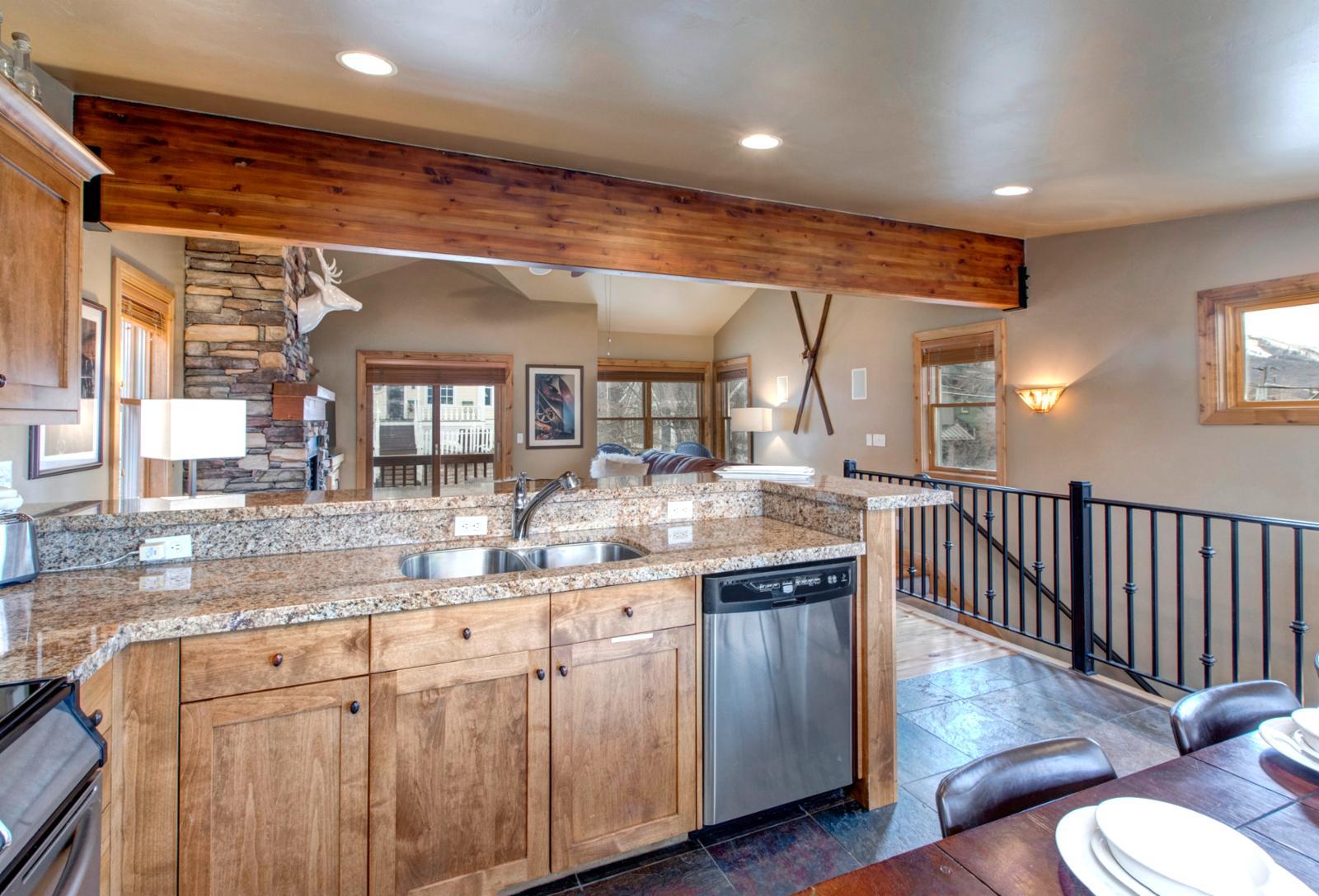 This kitchen awaits you
