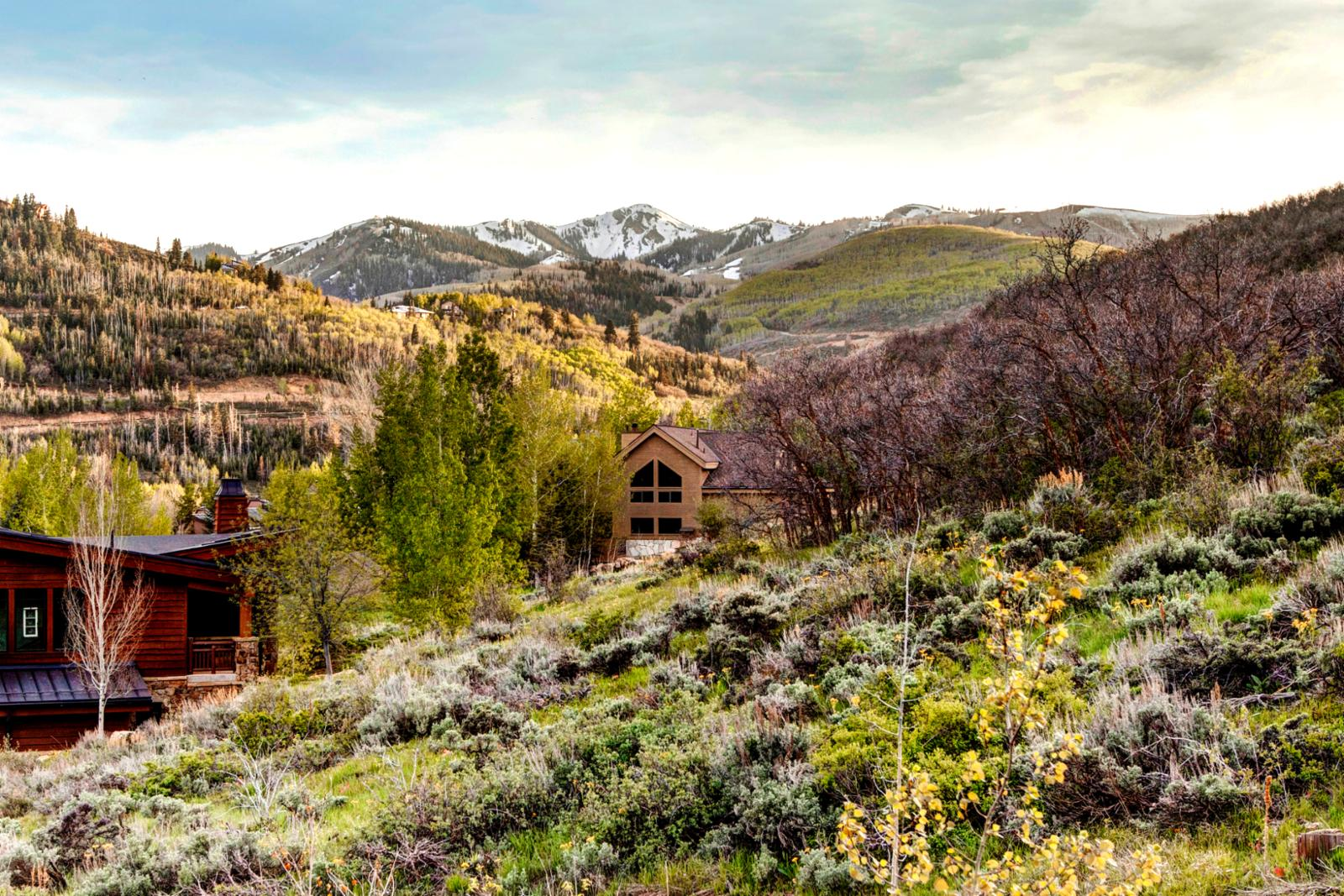 Capture the essence of Deer Valley from one of seven balcony