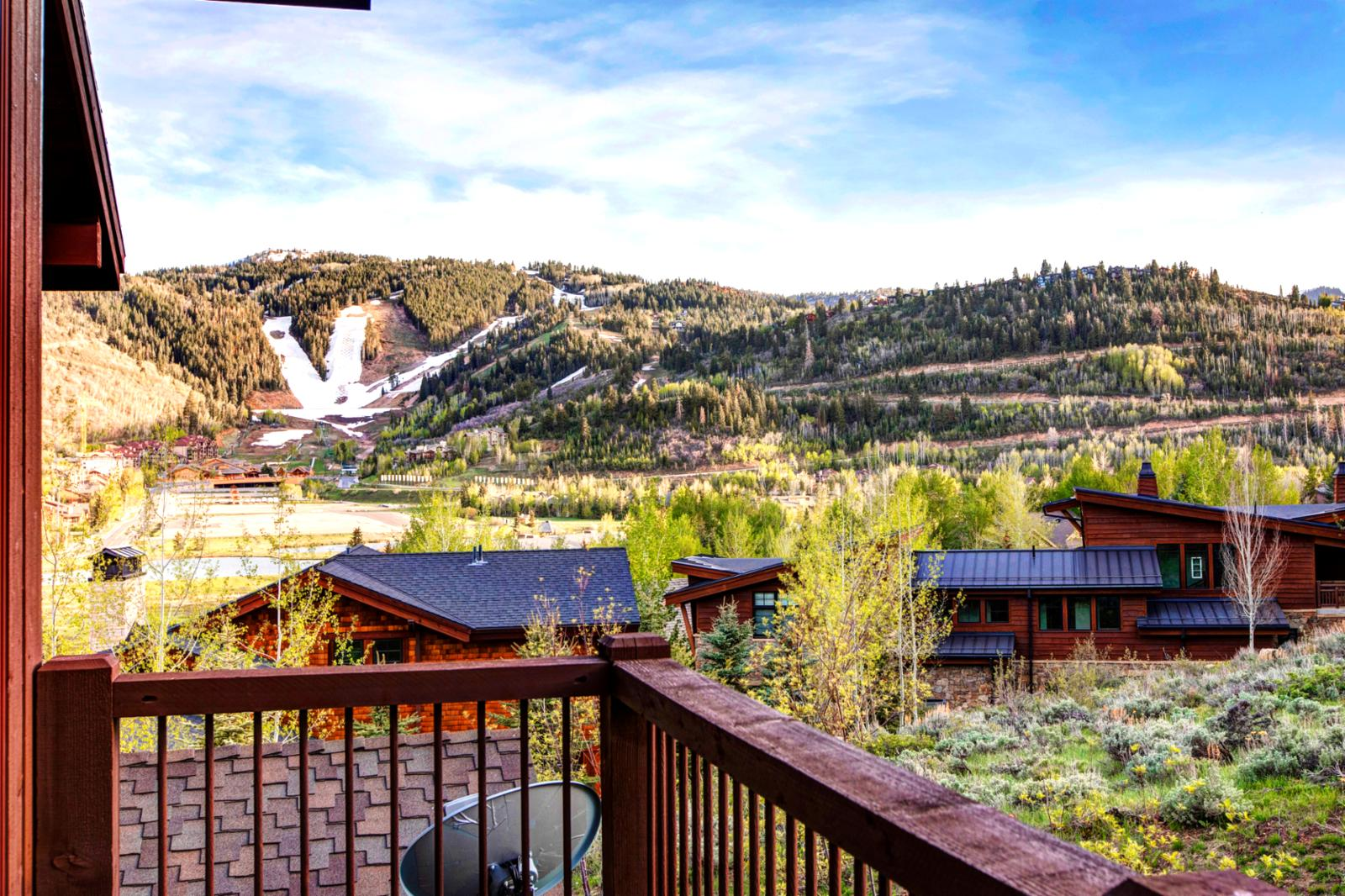 The ski runs and biking trails are here for you to explore!