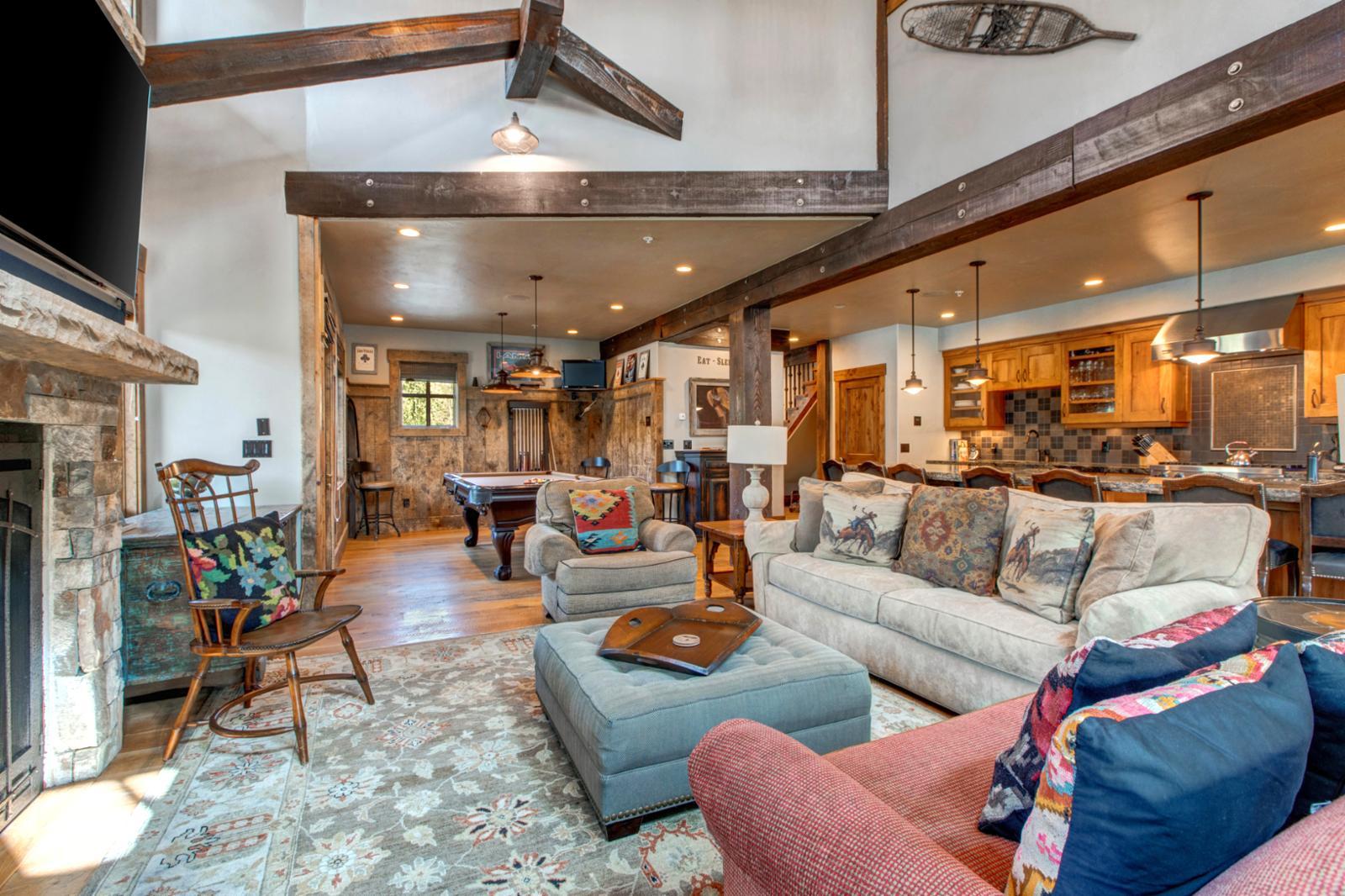 Queen Sofa Sleeper and  Twin Sleeper Located in Living Room