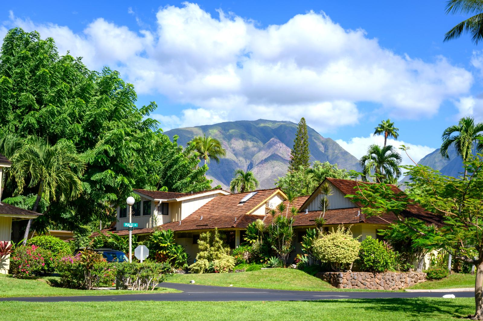 Amazing views of the west maui mountains!