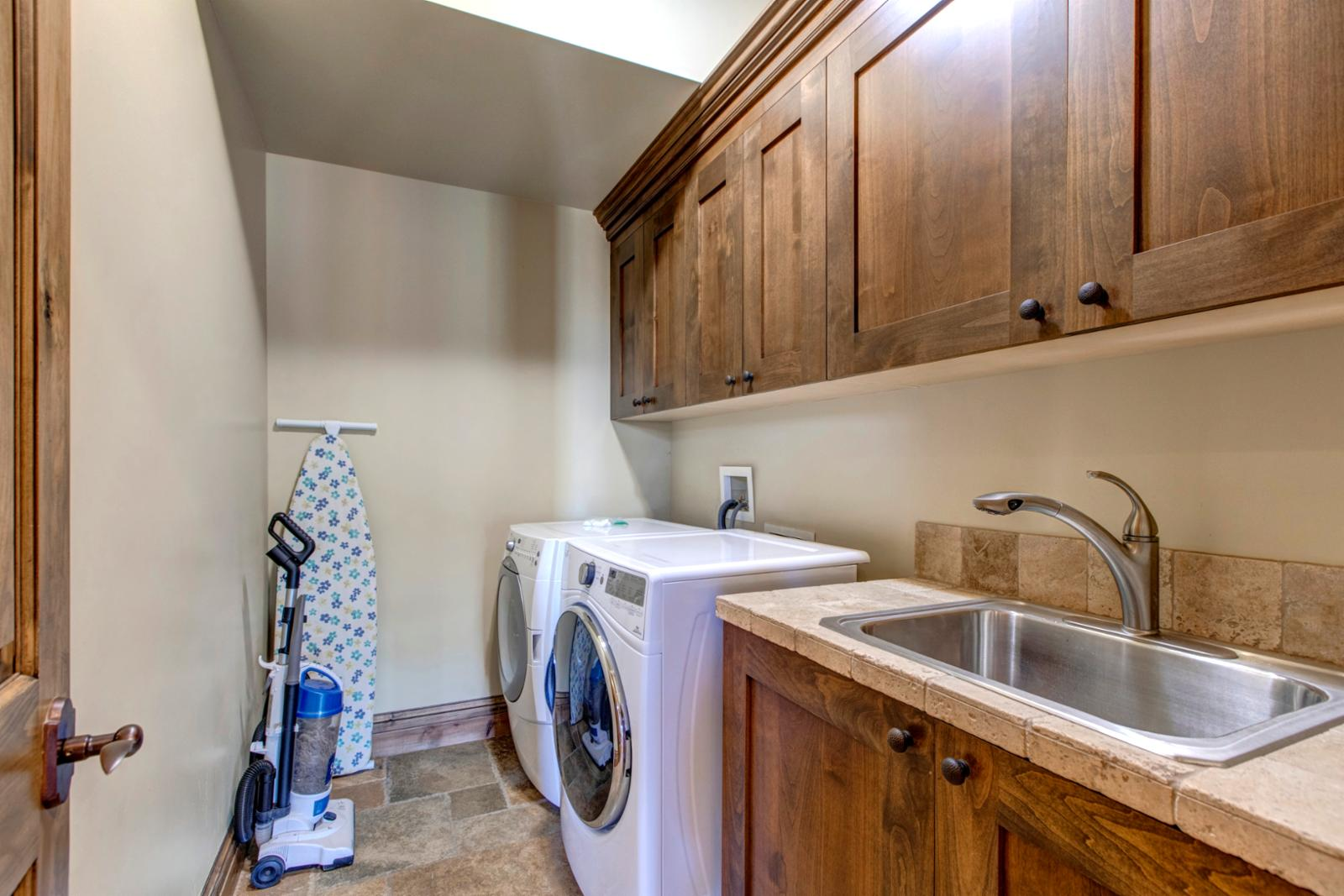 A private washer dryer for your convenience