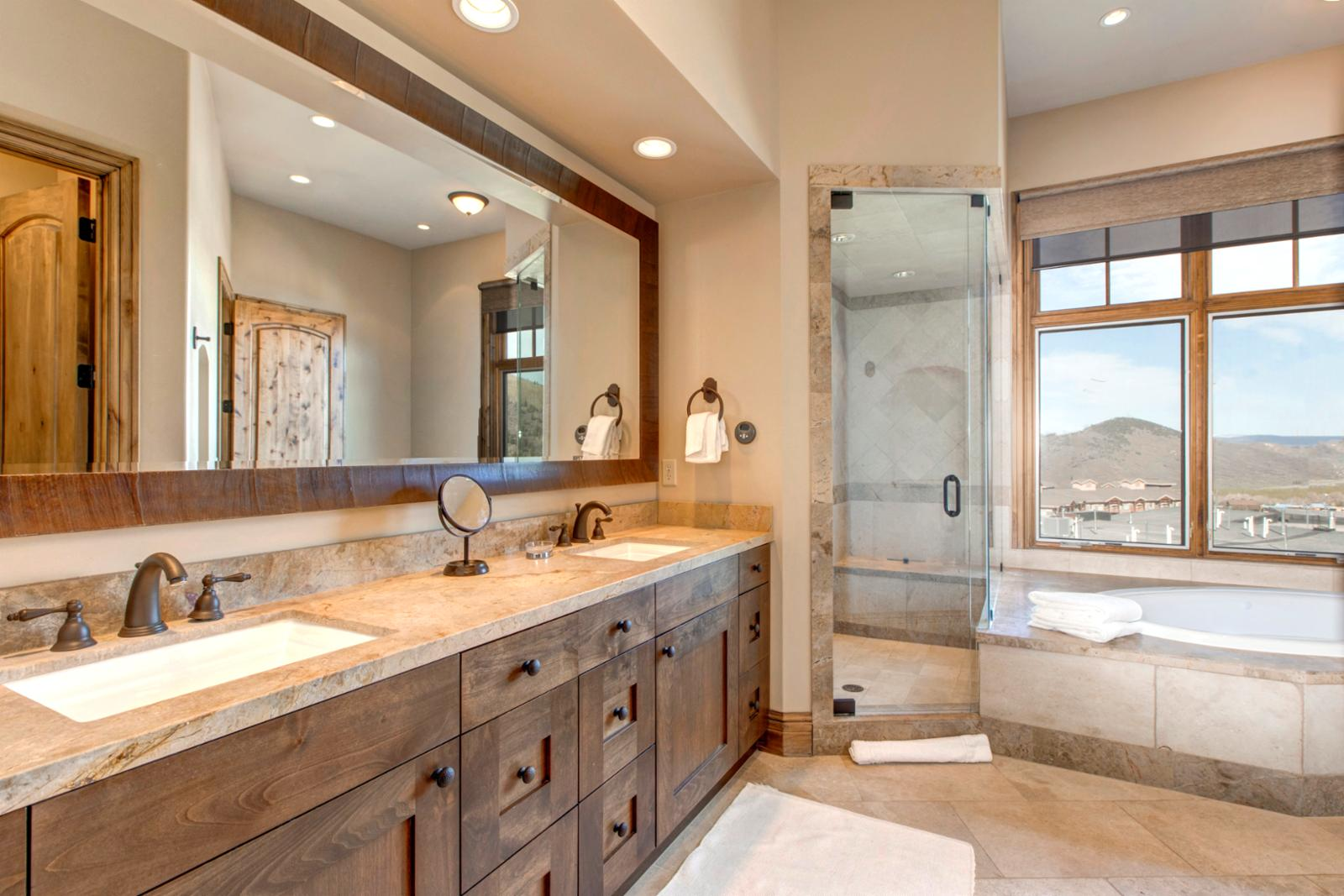 Take time for yourself in this beautiful master bath